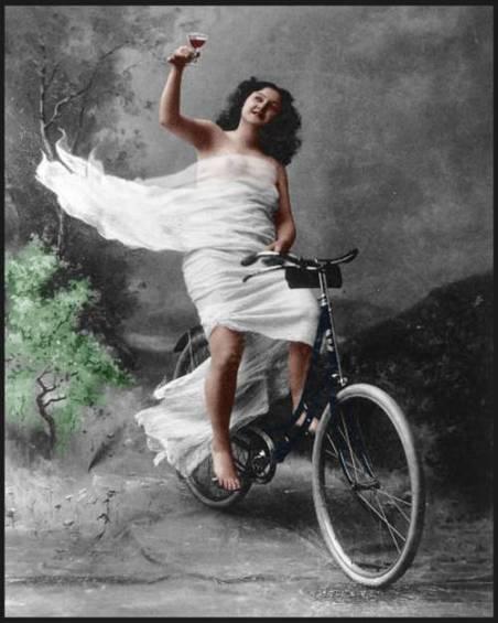 Ποδηλάτισσα 1890