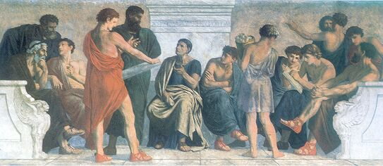 Spangenberg_-_Schule_des_Aristoteles