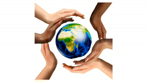 multiracial-hands-surrounding-earth-globe-footage-000652651_iconl