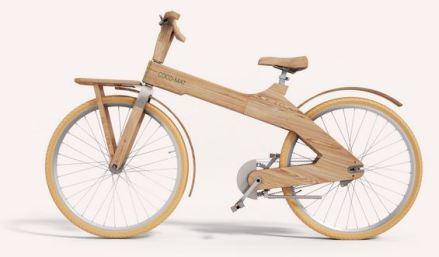 ξύλινο ποδήλατο